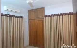 Semi furnished flat to let at the heart of basundhara