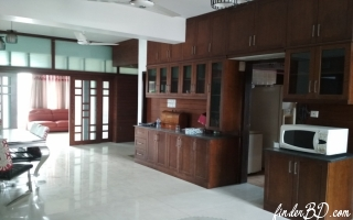 2500 Sqft 3 Bedroom Full Furnished Apartment For Rent In Sector 4, Uttara - At Azampur